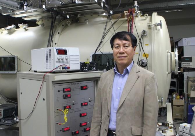 연구센터를 이끌고 있는 최원호 KAIST 교수 - 국가핵융합연구소 제공